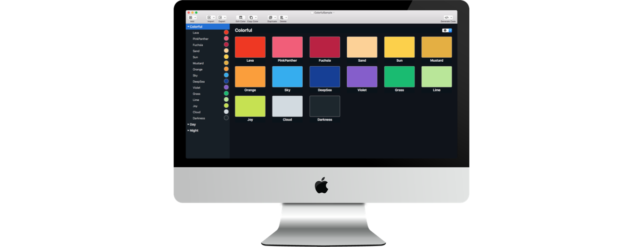 Colors Coder