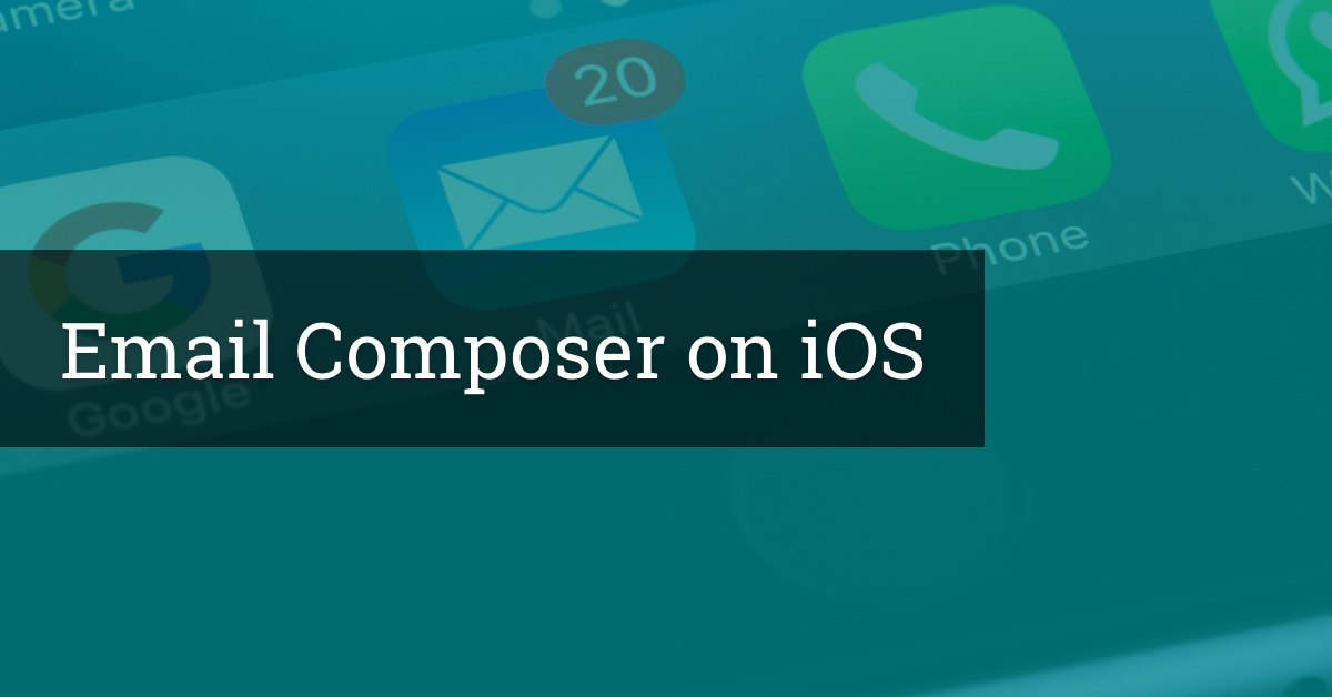 Email Composer on iOS