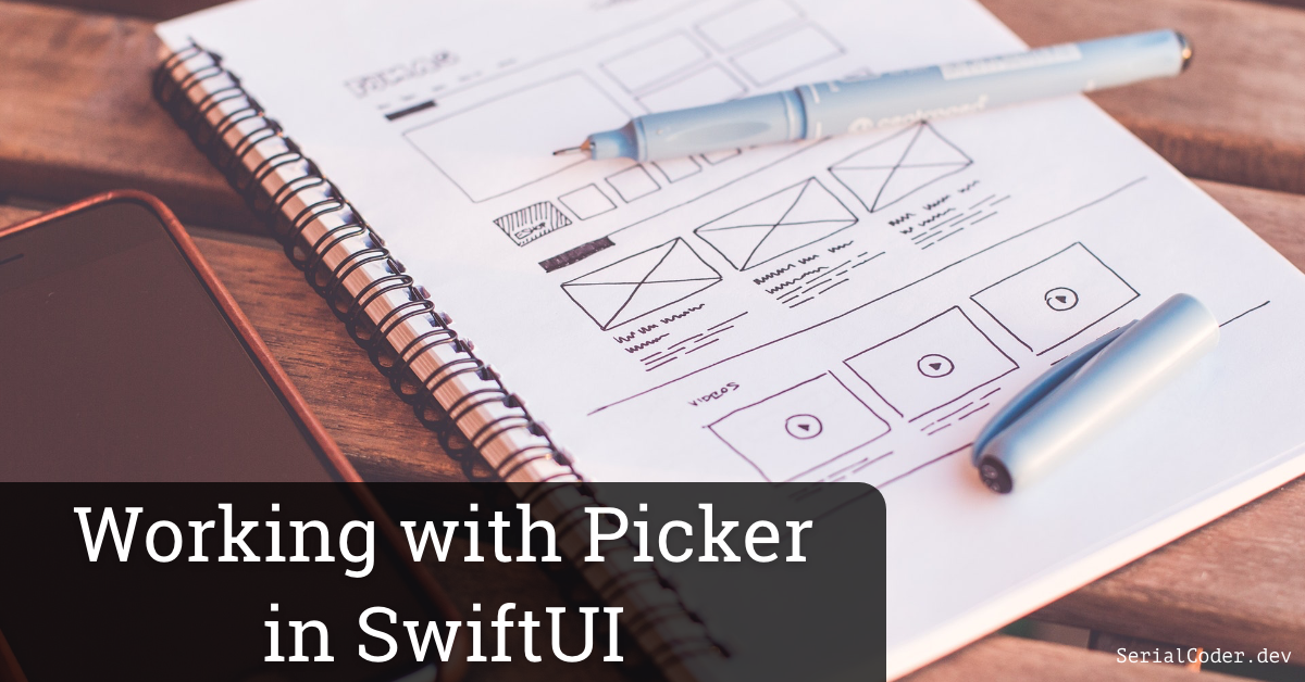 Working with Picker in SwiftUI